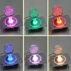 Jeu d'arcade Coloré 4-8 way 12 V Illuminé DEL manette pour jamma Mame Cabinet