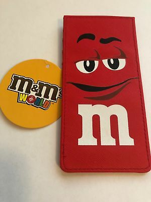 M/&M/'s World Blue Character Large Card Holder New with Tags