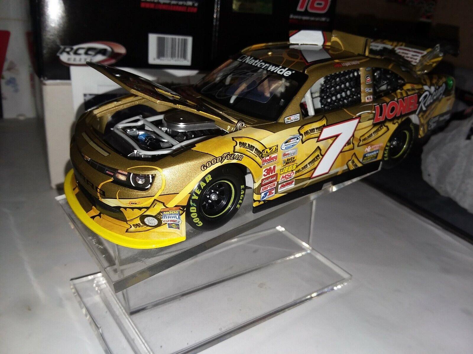 Regan Smith 2013 RCCA  7 AUTOGRAPHED Lionel Golden Ticket Chevrolet Camaro, NIB