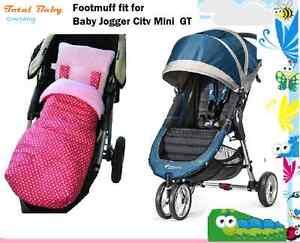 Fleece Footmuff Cosy Toes Compatible Baby Jogger Citi Mini Zip Grey Star