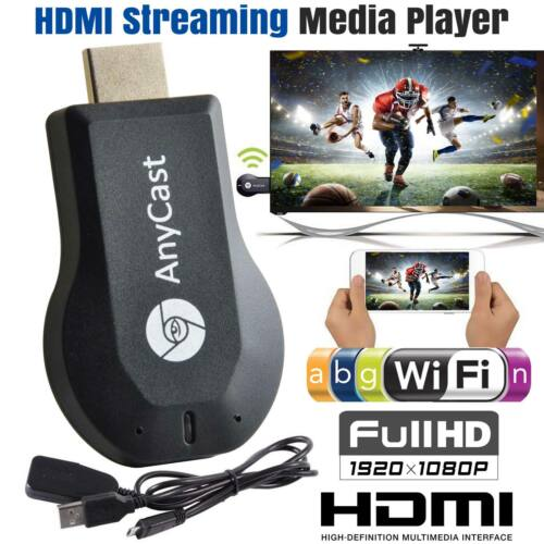 2018 WiFi 1080P HD HDMI TV Stick AnyCast DLNA Wireless Miracast Airplay Dongle