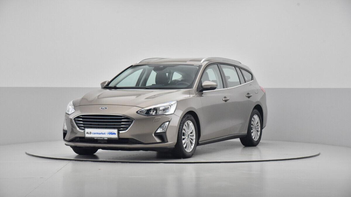 Ford Focus 1,0 EcoBoost Titanium stc. 5d - 204.000 kr.