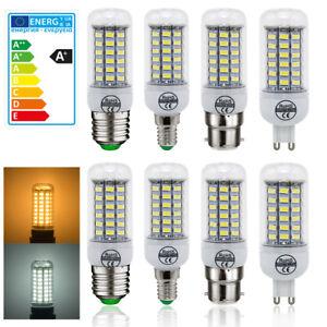E27-E14-B22-G9-LED-Mais-Ampoule-5730-SMD-7W-12W-15W-20W-25W-Blanc-Chaud-Lampe
