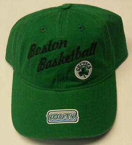 Nba Boston Celtics Boston Basketball Youth Cap Hat Curve