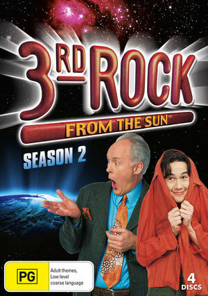 1 of 1 - 3rd Rock From The Sun : Season 2 (DVD, 2011, 4-Disc Set)REGION 4-Free postage