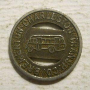 Bremerton, Washington transit token Kitsap Transit WA80O