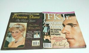 Memorial-Collector-039-s-Edition-JFK-Jr-Magazines-Prince-Diana-Palace-Years-Lot-2