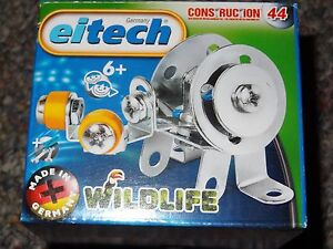 Wildlife Snail Eitech Metal Construction Building Toy C44