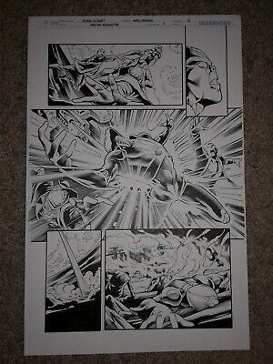 Martian Manhunter 7 Pg 12 Pearl Shot Dwon By The Warlords Of Mars Ebay