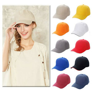 Men Women Baseball Cap Adjustable Snapback Sport Hip-Hop Flattened Hat Unisex