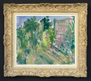Raya-safir-1909-2004-fauve-landscape-painting-of-provence-1950-279
