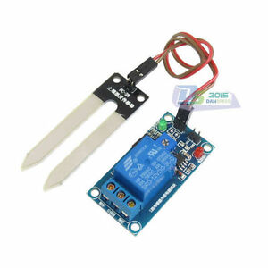 12v Detection Detecting Hygrometer Sensor Module Soil