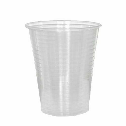 300 Count 200 7 oz Clear Plastic Drinking Cups Disposable 100