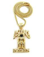 Iced Out Last King Pendant & 36 Franco Chain.