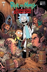 RICK AND MORTY VS DUNGEONS & DRAGONS 1 1:25 VARIANT COVER
