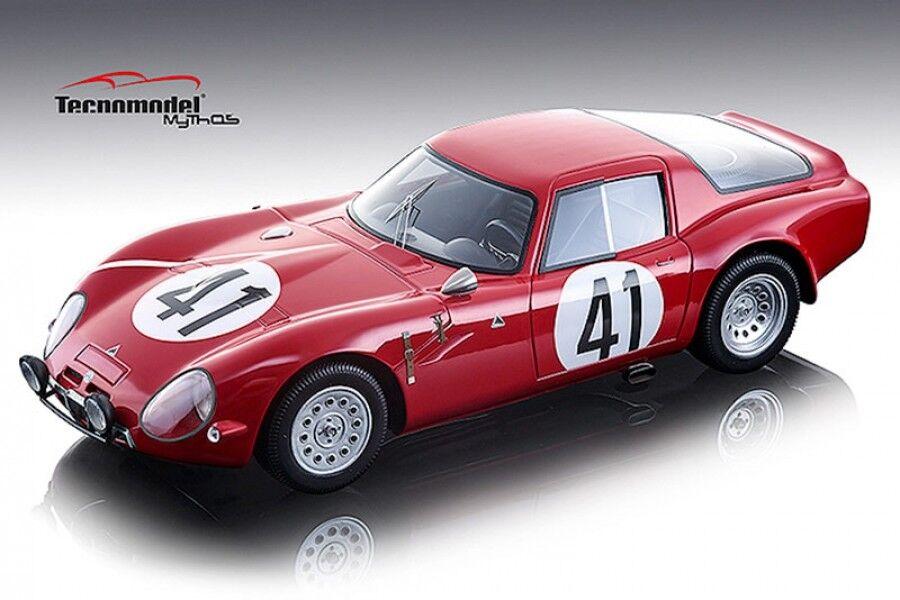 1 18th Alfa Romeo TZ2  41 Le Mans 1965