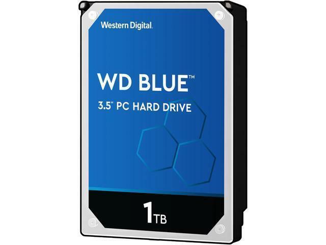 WD Internal Hard Drive WD10EZEX 1TB 7200 RPM 64MB Cache