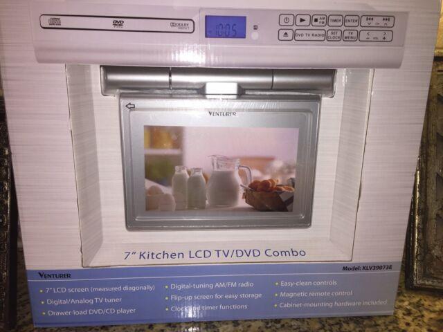 Venturer Klv3915 15 4 Undercabinet Kitchen Lcd Tv Dvd Combo For Sale Online Ebay