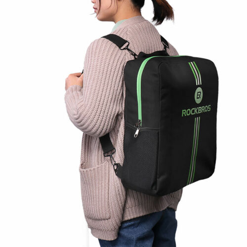 RockBros Folding Bike Carrier Bag Easliy Carry Bag with Storage Bag