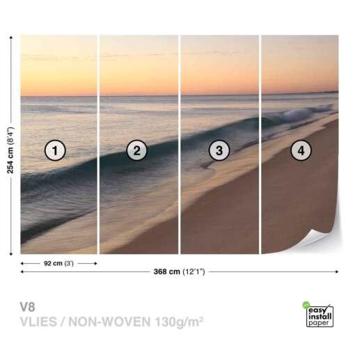 WALL MURAL PHOTO WALLPAPER XXL Beach Sea Ocean Waves Sunset JD-1374WS