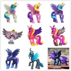 my little pony nightmare moon 5cm figures toy princess cadance luna
