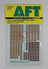 Archer 1/35 UK / CW AOS Signs REME & Junior Infantry Brigades ('43-'45) AR77036