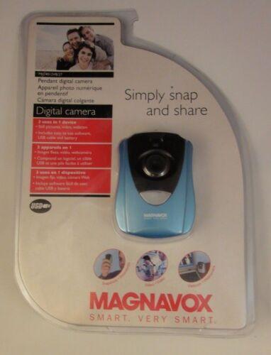 Magnavox Simply Snap & Share Pendant Digital Camera MIC4012VB/27 - Blue