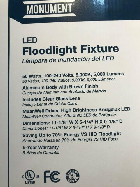 Monument 1-Light Outdoor Flood Light