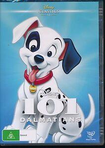 Disney-Classics-11-101-Dalmatians-DVD-NEW-Region-4