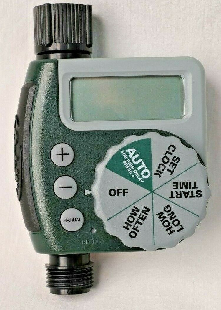 Orbit 62061Z Single-Outlet Hose Watering Timer, 1, Green 1 Outlet