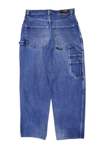 Vintage FUBU JEANS Size 30 in /  90s Hip Hop Jeans