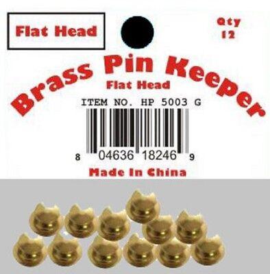 ( 48 Pieces ) Pin Keepers Backs Locks Locking (flat Head Gold) Zorgvuldig Geselecteerde Materialen