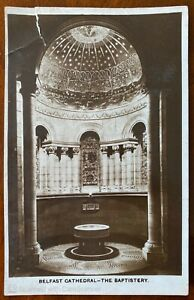 The-Baptistery-Belfast-Cathedral-Postcard-1936-Northern-Ireland-Cathedral-Guild