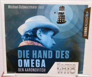 DR-WHO-Die-Hand-des-Omega-Hoerbuch-auf-4-CD-Ben-Aaronovitch-Sci-Fi-Serie