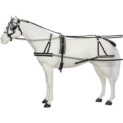 Miniature Horse Herculean Nylon Driving Harness Loaded with Crystals