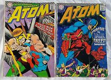 THE ATOM DC Comics LOT Of 2 Issues #31 #32  Silver Age 1967 Comic Books
