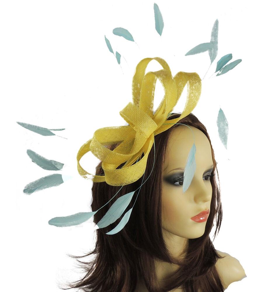 Acheter Pas Cher Femmes Sinamay Ascot Kentucky Derby Fascinator Chapeau Serre-tête B4 Peut êTre à Plusieurs Reprises Replié.