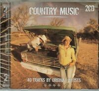 Country Music - Various Artists - 2 Cd Set - 40 Songs - - Free Shipping