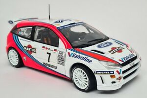 Action 1/18 - Ford Focus WRC 1999 No.7 Rally Portugal 1999 Winners McRae/Grist