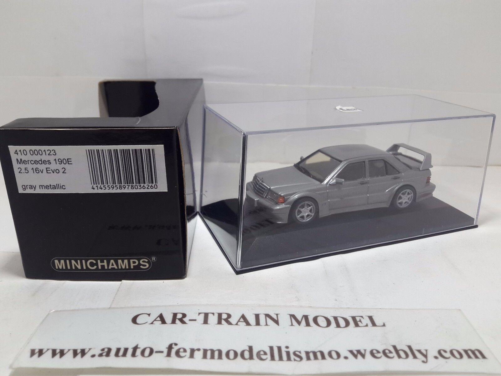 Mercedes-Benz 190 E 2.5  16V EVO 2 - Minichamps 1 43 1 43 1-43  prezzi bassissimi