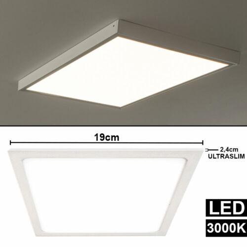 LED Decken Panel Aufbau Lampe Arbeits Zimmer Beleuchtung ALU Leuchte Ultra Slim