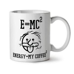 Einstein Coffee NEW White Tea Coffee Mug 11 oz | Wellcoda