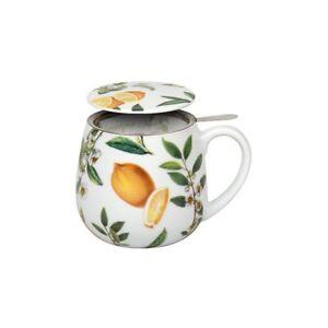 Teetasse Mit Sieb teetasse mit sieb und deckel my favourite tea schwarzer zitrone