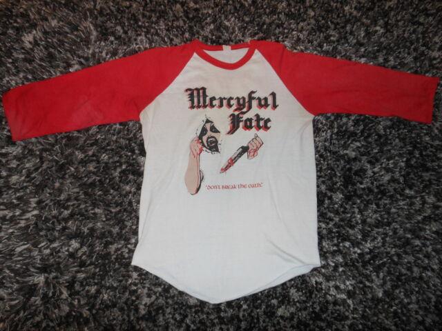 Vintage Mercyful Fate Tour Shirt King Diamond Metallica Slayer Venom