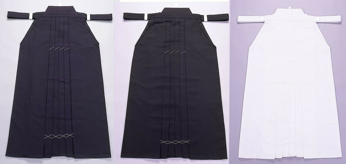 100% Authentic Kendo Hakama - Direct From Local Japanese Maker HPN  HPB  HPW