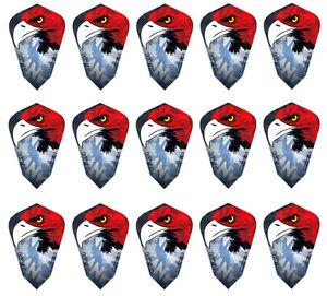 Eagle Harrows Fantail Dart Flights Fantail Shape