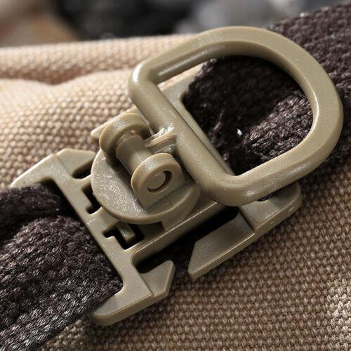 2//5 stk Molle Strap Rucksack Tasche Gurtband Gürtelschnalle Clip EDC.OutdoorPro