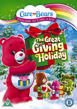 DVD:THE CARE BEARS - THE GREAT GIVING HOLIDAY - NEW Region 2 UK