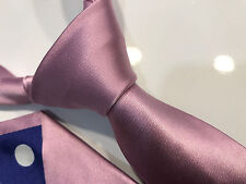 """Paul Smith Baby Pink Tie """"MAINLINE"""" 6cm Blade 100% Silk Made in Italy"""