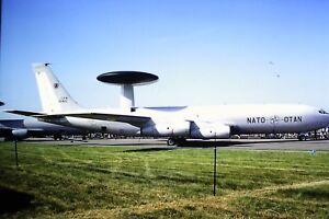 2-280-2-Boeing-E-3-Sentry-NATO-LX-N90455-Kodachrome-SLIDE